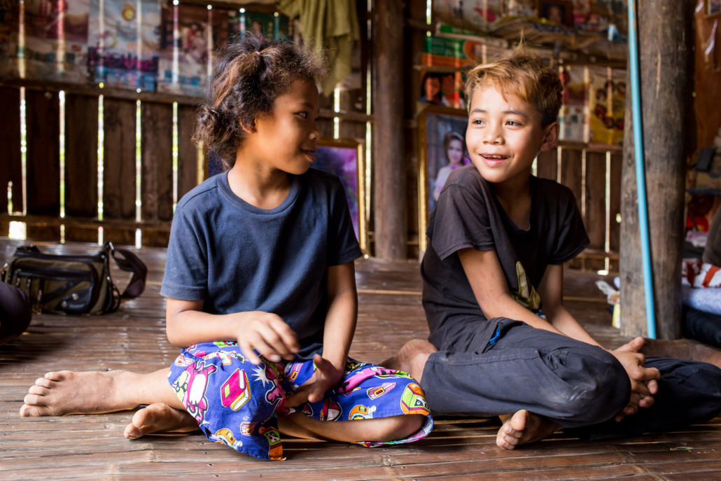Mrs. Im Koy Hour, CWE and Family. Village Chheu Teal village, Peam Chileang Commune, Tbung Khmum Province Cambodia.