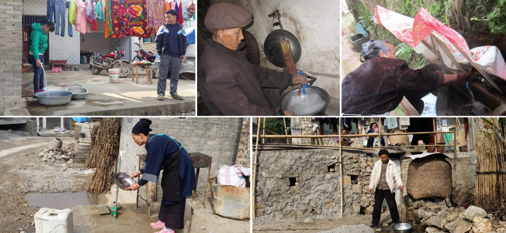 Clean water piped to households in the prefectures of Zunyi, Bijie and Anshun