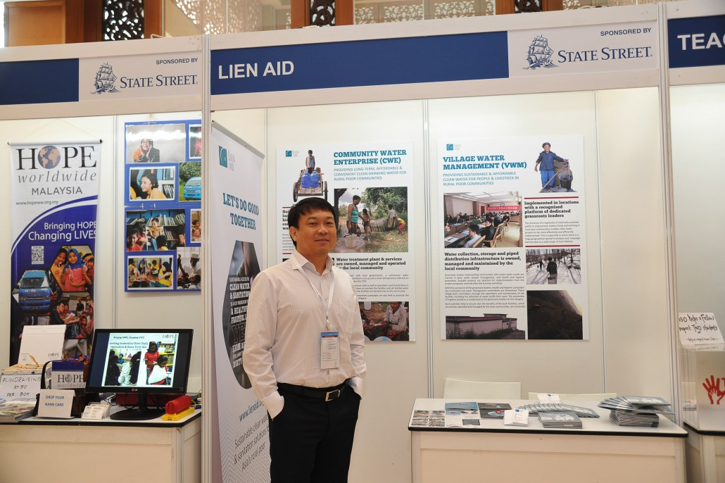 Lien AID at the CSR Asia Summit 2015